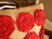 Розы из ткани: мастер класс с пошаговым фото