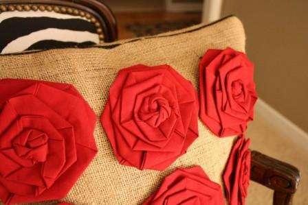 Розы из ткани своими руками для начинающих, делаем пошагово. Фото