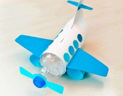 Идеи поделок самолетов из пластиковых бутылок