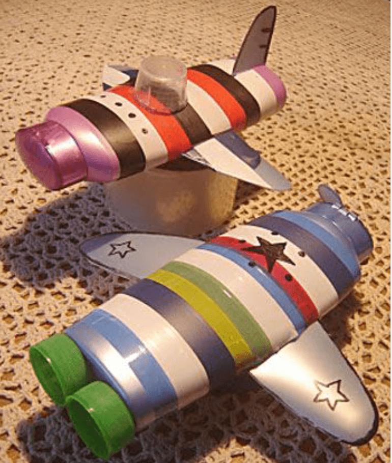 Делаем самолет из пластиковой бутылки своими руками
