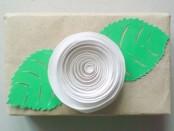 Cамые простые цветы из бумаги своими руками, фото МК