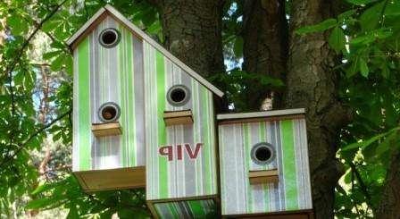 Идеи для птичих домиков. Как сделать скворечник