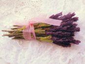 Бисероплетение: лаванда из бисера
