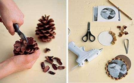 В последнее время все больше появляется идей, как оформить фотографии своими руками. Декор из натурального материала станет отличным вариантом для украшения фото.