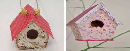 Идеи для птичих домиков