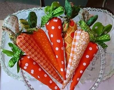 Морковка из ткани фетра своими руками, мастер класс