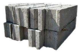 Этот стройматериал представляет собой блоки монолитного композитного типа, изготовляемые из стальной арматуры и цементного раствора.