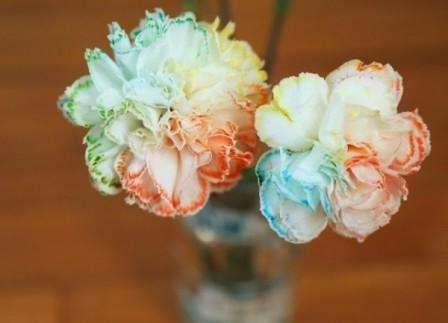 Цветы из салфеток. Пошаговое фото. Одуванчик, роза, пион, гвоздика