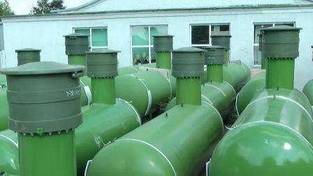 Газгольдеры Chemet для загородного дома. Цены, преимущества, устройство