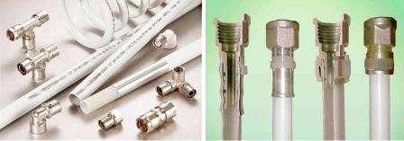 Металлопластиковый вид труб не ржавеет, защищён от ультрафиолета и скопления конденсата. Один минус, о