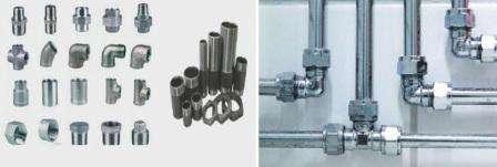 Стальной вид труб довольно долговечный, прочный, но ржавеет при неравномерном водопотреблении. Соединяются сваркой