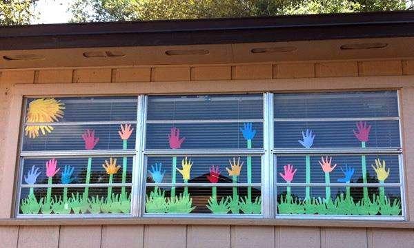 Украсить класс своими руками ко дню учителя