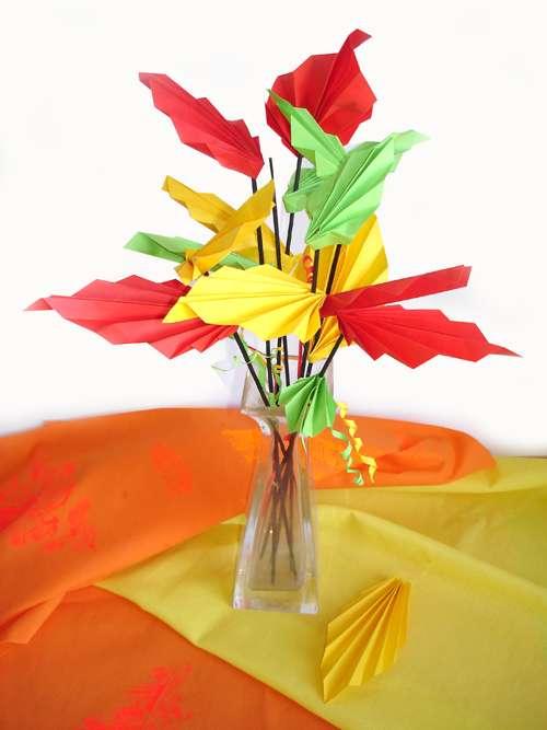 1 сентября оригами