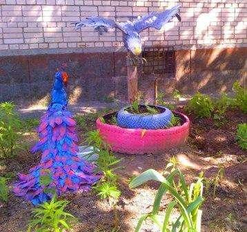 Птицы своими руками оригинальные идеи 98