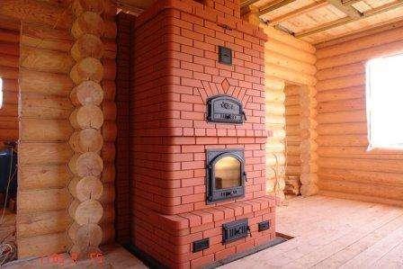 Камин печь для дома