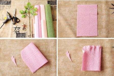 Как сделать конфетный букет из гофробумаги