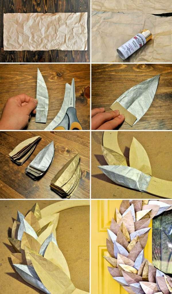 осенние поделки из бумаги своими руками
