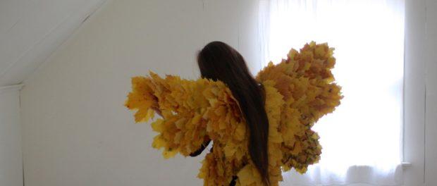 какие поделки сделать из листьев