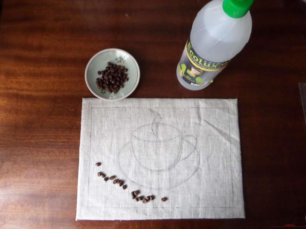 какие поделки сделать из кофейных зерен
