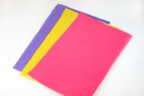 поделка из цветной бумаги в 1 класс