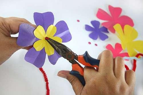 поделки для школьников из цветной бумаги