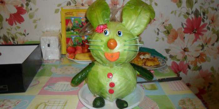 детские поделки из овощей и фруктов на выставку пошагово
