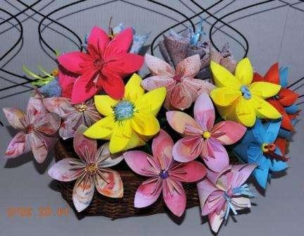 Кусудама для начинающих: цветы схемы, фото