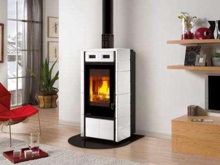 Печь-камин для дома на дровах длительного горения, как сделать. Видео