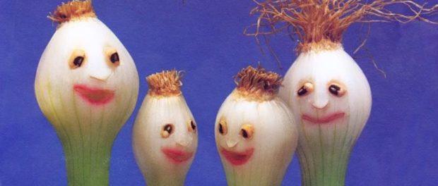 поделки в садик из овощей