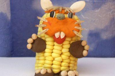 Поделки из кукурузны