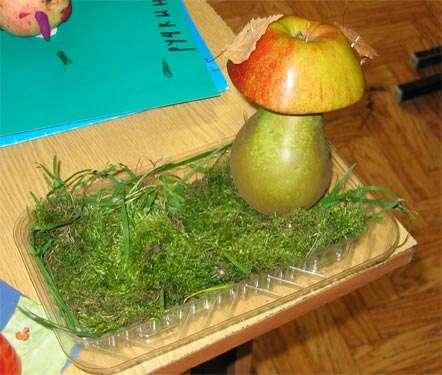 осенние поделки из овощей своими руками