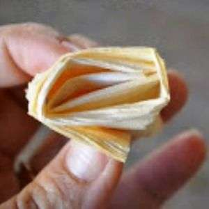 поделка из сухих листьев кукурузы