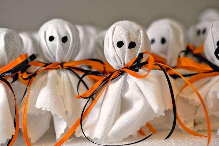 как сделать поделки на хэллоуин