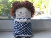 Выкройки и шаблоны куклы из текстиля
