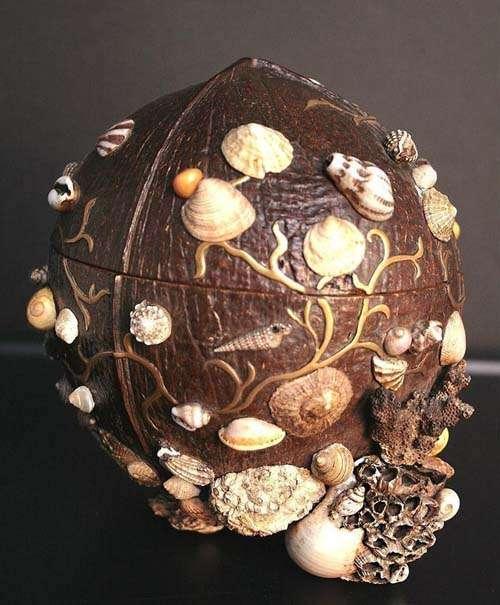 поделки из скорлупы кокоса