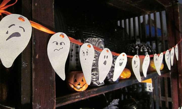 Украшение дома на Хэллоуин. Креативные поделки для декора