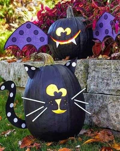 поделка для хэллоуина