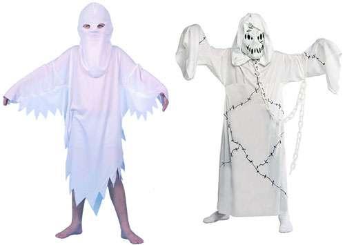 Как сделать костюм привидения видео