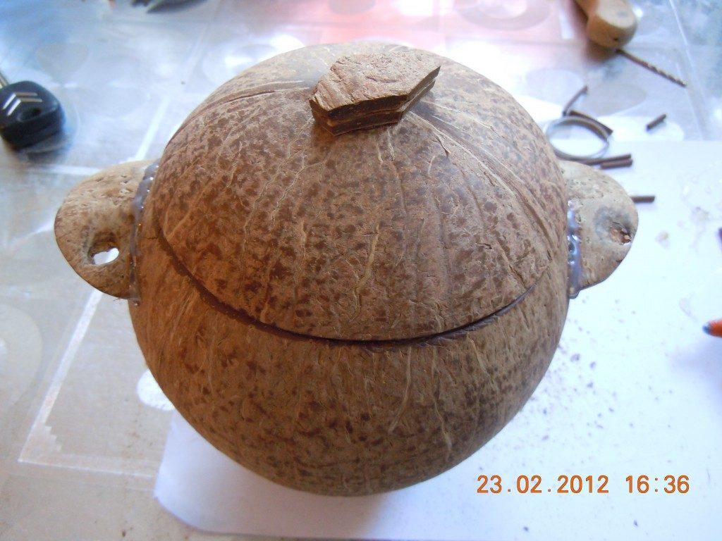 что можно сделать из скорлупы кокоса