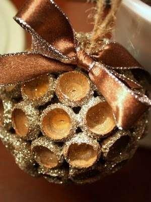 шар для елки своими руками
