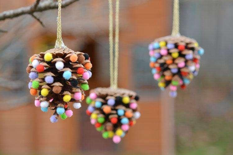 новогодние игрушки для украшения елки в детском саду