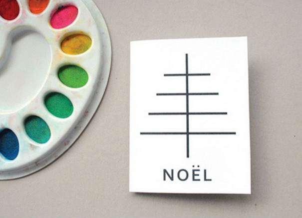 новогодние открытки сделать руками