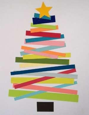новогодние открытки своими руками из бумаги