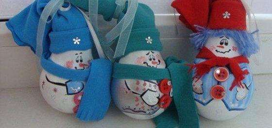 новогодние игрушки для детского сада
