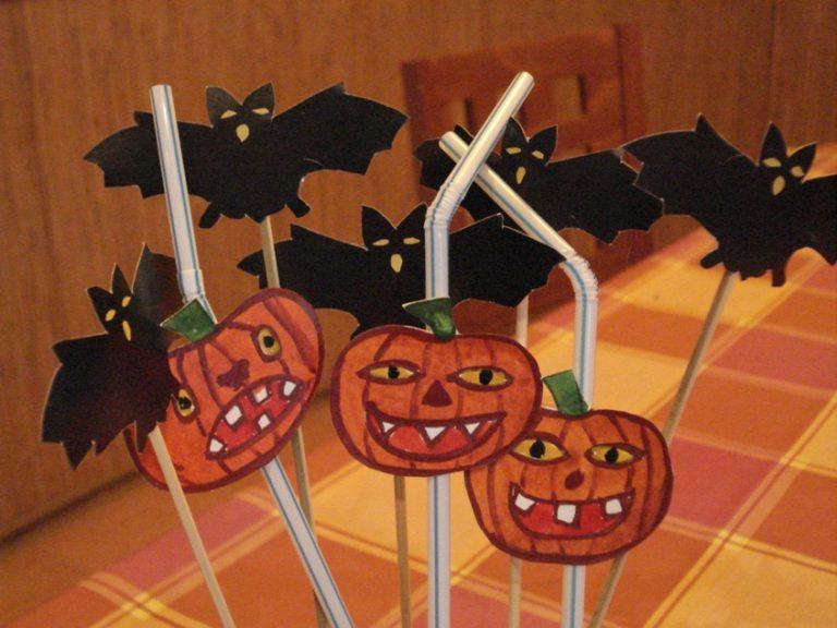 Декорации на хэллоуин своими руками из бумаги картинки