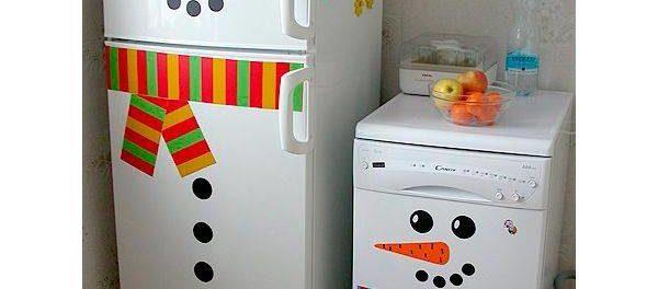 украшение холодильника своими руками