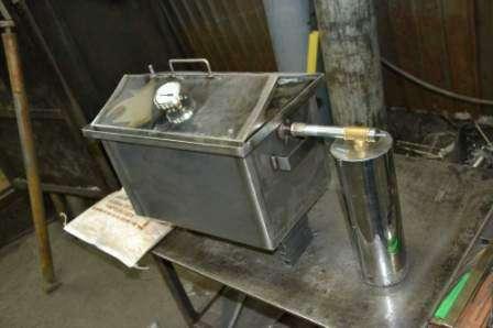 Изготовить дымогенератор для холодного копчения своими руками 117