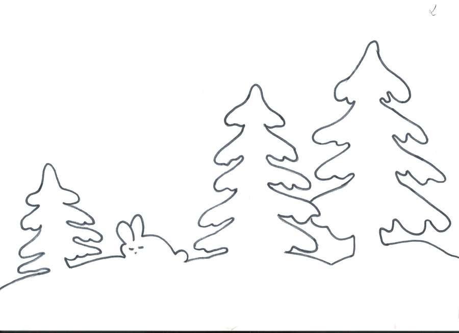 На окна распечатать из новогодних украшений бумаги