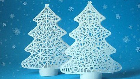 игрушки из бумаги на новый год своими руками