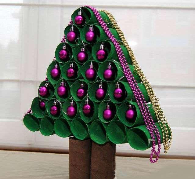 Подделки на новый год елки